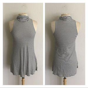 Puella striped knit tunic